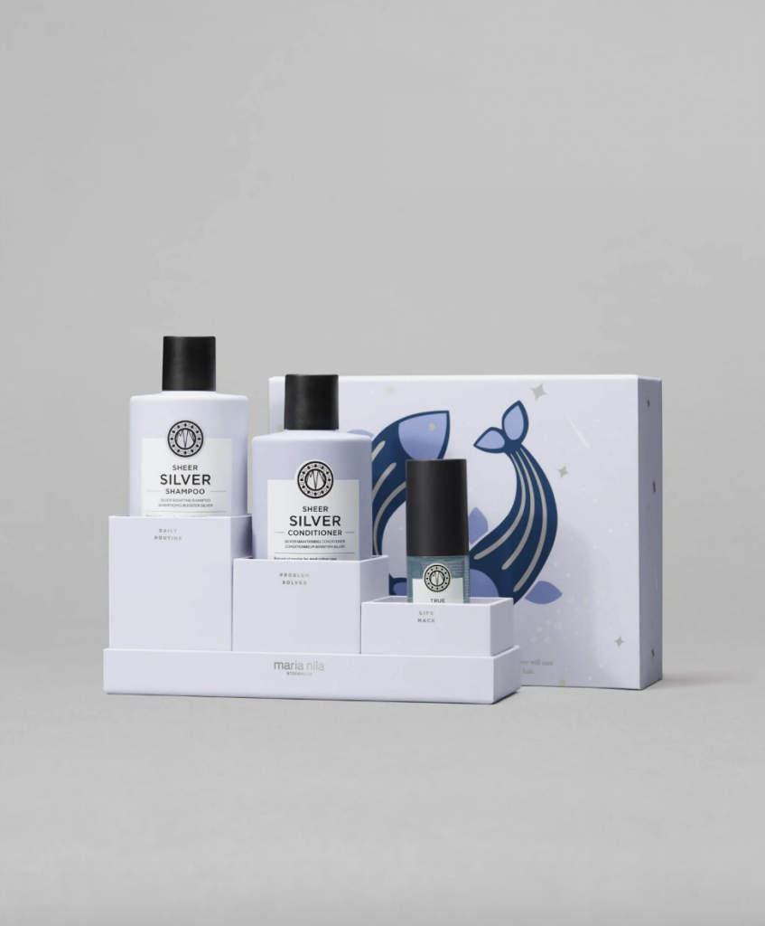 Haircare set from Maria Nila - sustainable christmas gifts